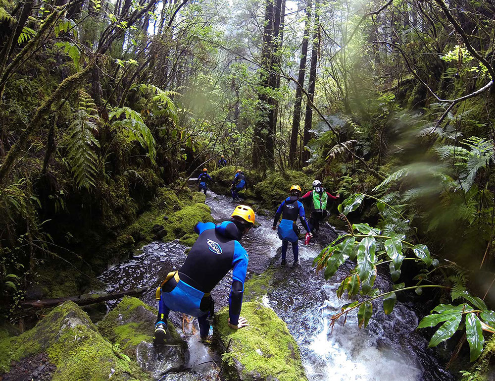 Canyoning in Faial