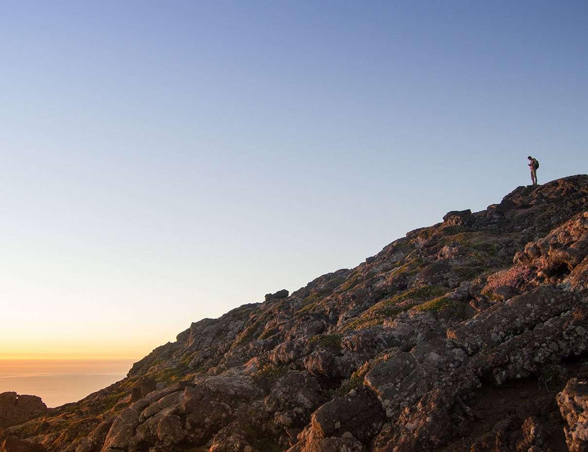 Pico mountain climb